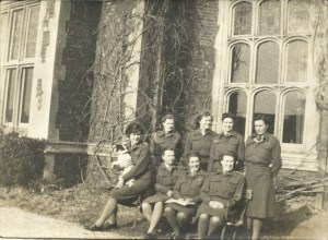 February 1946 Nancy front row far right