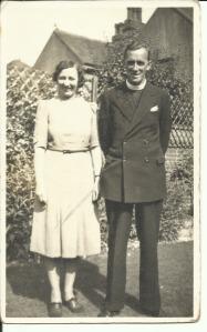 Mr and Mrs Simpson, Vicar at Dorset Gardens Methodist Church