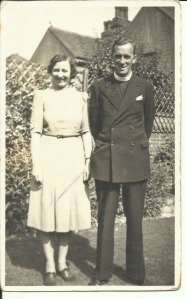 Mr and Mrs Simpson, Vicar at Dorset Gardens Methodist Church