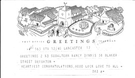 1 February 1943 Greetings from Dad