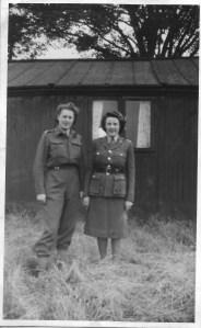 Nancy Dinnis on left