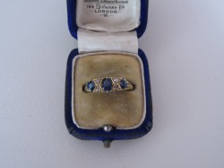 Edith Cleeve's engagement ring