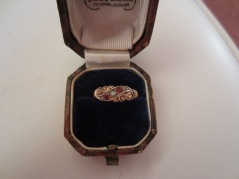 Rose Cleeve's engagement ring