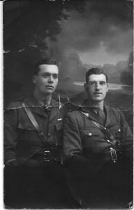 Joseph Taylor Dinnis (right)