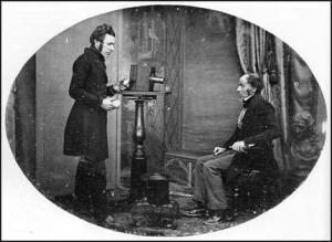 D.S. Beard studio in London 1842 http://spartacus-educational.com/DSphotoearly1A9.htm