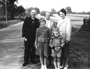 Whitsun 1964 Joseph, Annie, Nancy, Susan and Ian