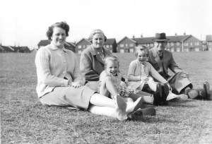 Nancy, Annie and Joseph with Ian and Susan.