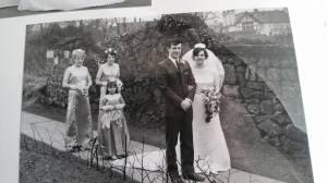 Robert and Pat's wedding 1969