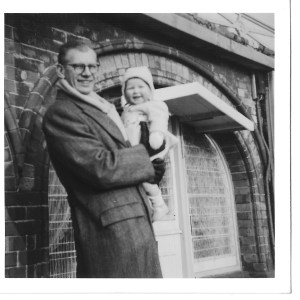 6 Dec baby me and dad