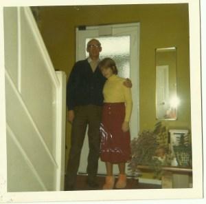 8 Dec christmas 1970 me and Dad