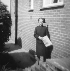croopped mum in salvation army uniform