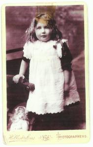 My grandmother - May Annie Doris Cockett, known as Queenie