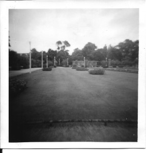 Another view of the gardens in Calais