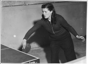 Enid May Dinnis Table tennis