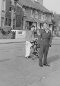 Enid May Dinnis and Gordon Charles Dinnis Cycling