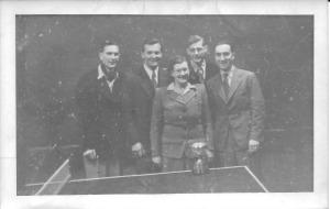 Gordon Charles Dinnis Table tennis