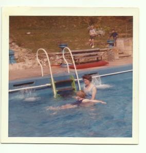 Jacqueline Ann Dinnis Swimming